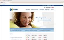 Relaunch of www.erv.com
